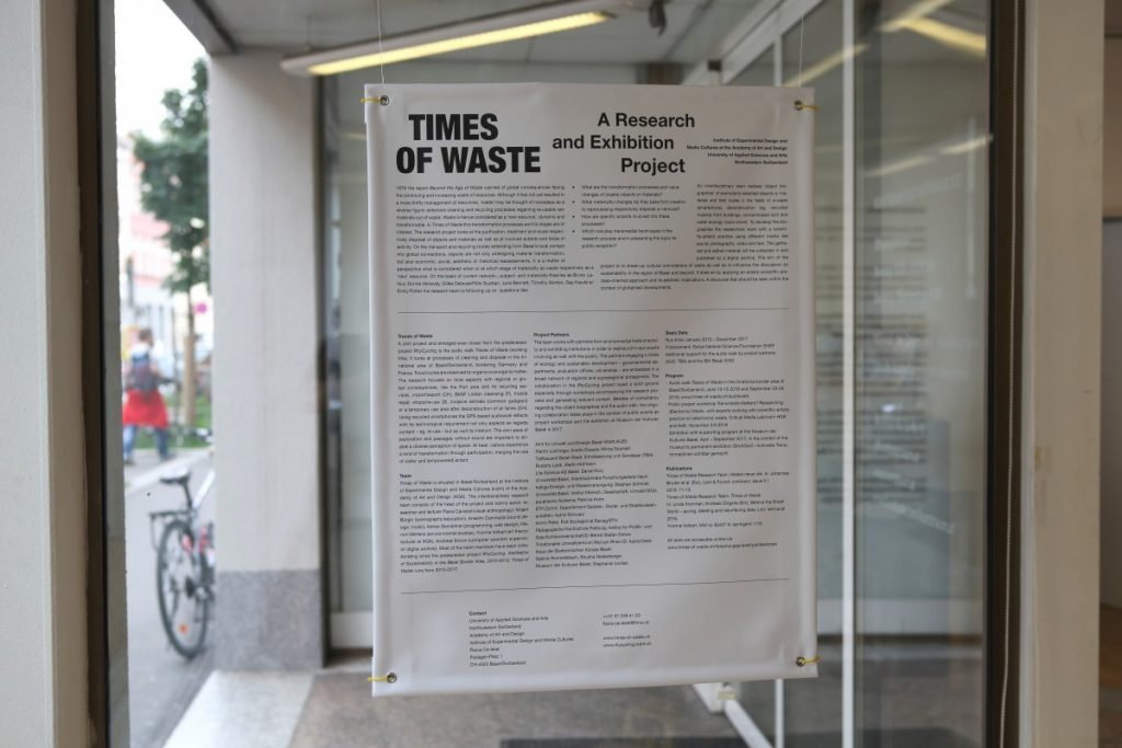 "Research group: ""Times of Waste"""